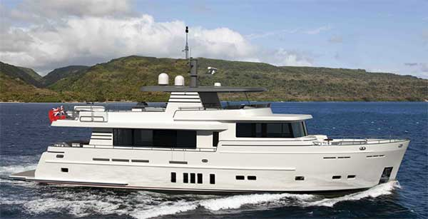 81 2017 VAN DER VALK EXPEDITION YACHT for Sale