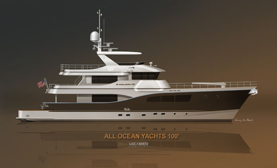 All Ocean Yachts 100 in Steel