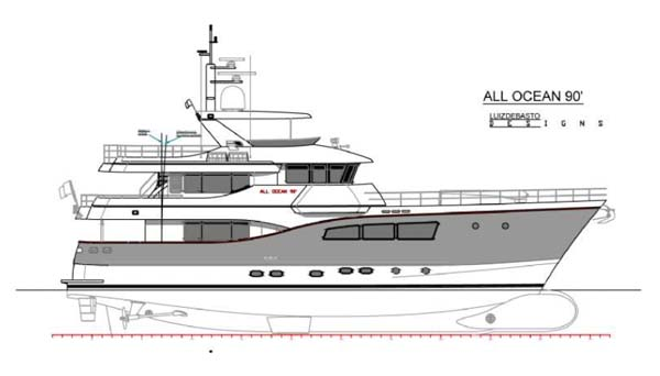 All Oceans Yacht 90