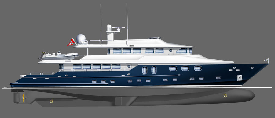Bray 125 Explorer Yacht Buy Explorer Yachts