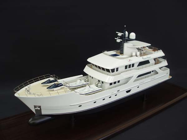 Inace 126 Expedition Yacht Model Image