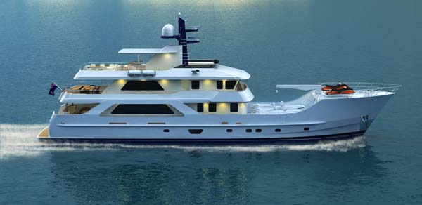 Inace 126 Explorer Yacht