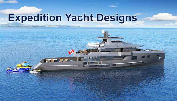 Expedition Yacht Design