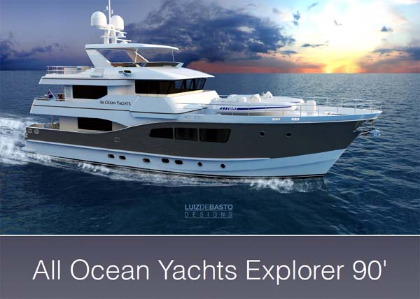 All Ocean Yachts Explorer 90 Presentation