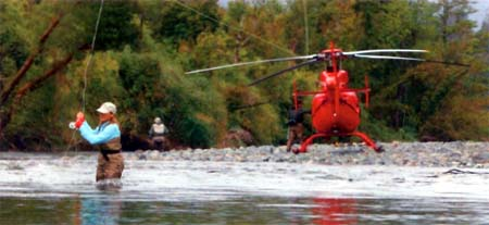 Expedition Helicopter Fishing