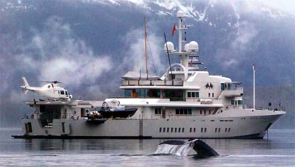 Expedition Yacht Mothership