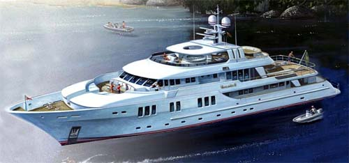 133 Foot Inace Yacht Explorer