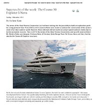 Superyacht of the week: The Cosmo 50 Explorer I-Nova