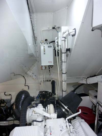 The Engine Room From Way Back: Explorer Yachts News- Engineering Details