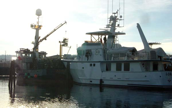 Northern Marine 80 Expedition Yacht Lora and Fishing Boat