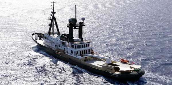 Expedition Yacht Tug Conversion Sea Ranger