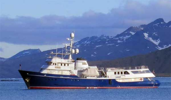 Expedition Yacht Tug Conversion Asteria