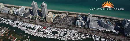 Yachts Miami Beach Collins Avenue