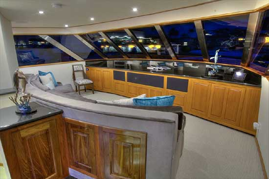 Expedition Yacht Media Room