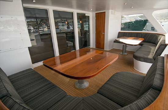 Expedition Yacht California Deck