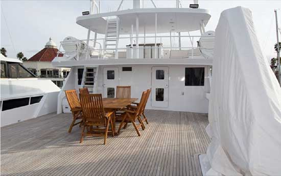 Expedition Yacht Boat Deck Forward