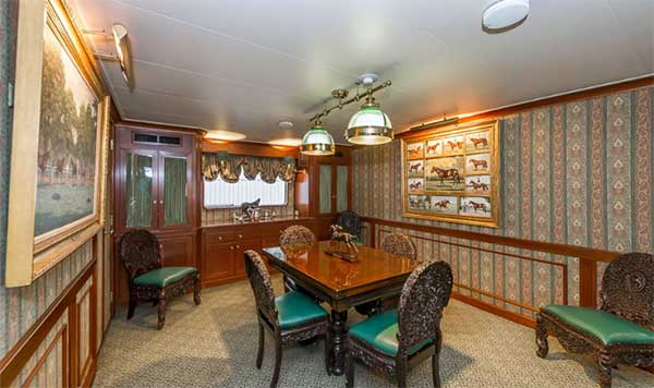 Expedition Yacht Dining Salon