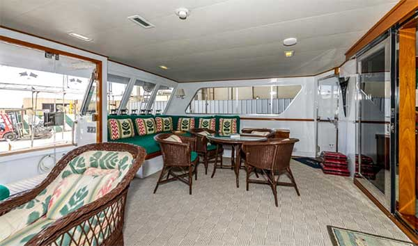 Expedition Yacht Aft Deck