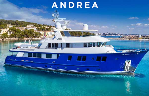 126' DELTA EXPEDITION YACHT ANDREA