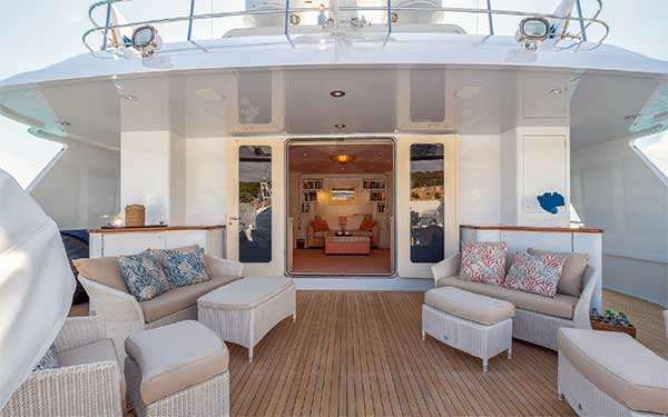 Expedition Yacht Andrea Boat Deck