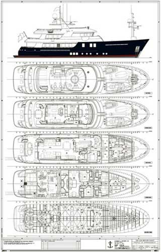 Expedition Yacht Safira Layout