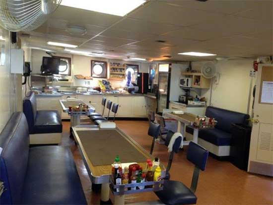 Expedition Yacht Galley 1