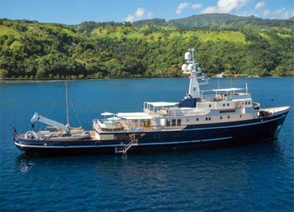 90 Ocean Voyager Yacht for Sale
