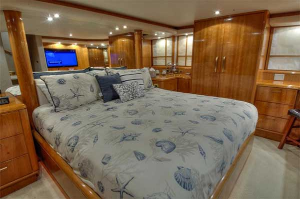 Expedition Yacht Master Stateroom