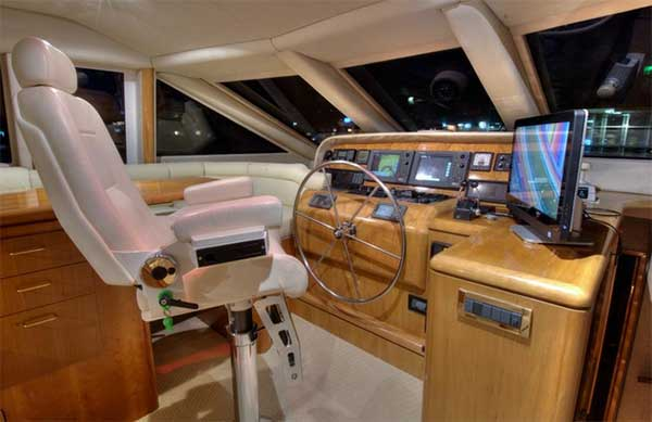 Expedition Yacht Pilot House