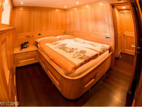 Expedition Yacht for Sale Port Cabin