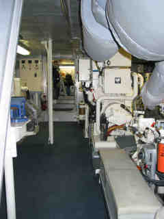 Lower Deck Engine Spaces