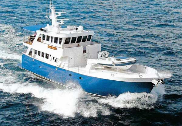 77 Custom Steel Expedition Yacht for Sale