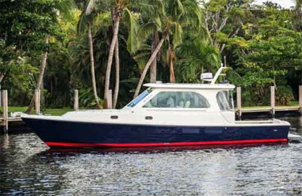 36 Hunt Jet Boat for Sale | Explorer Yachts Brokerage