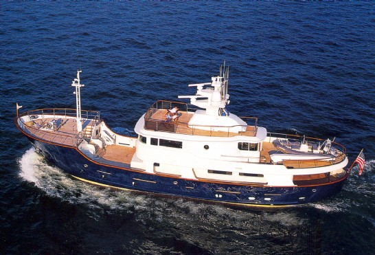 Steel Expedition Yachts : Fishing boat steel explorer yachts