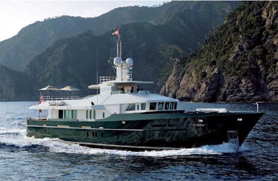 EXPLORER YACHT 118' 36.1m BENETTI. BENETTI Courtesy www.buyexploreryachts. ...