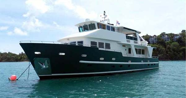 Steel Expedition Yachts : Explorer yacht custom steel expedition