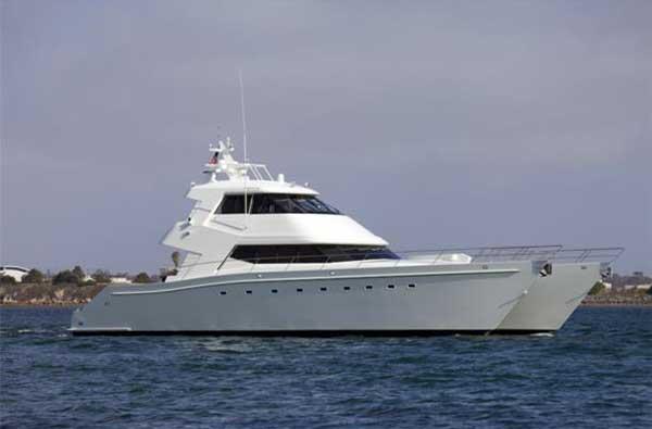 Expedition Yacht 80 Custom Power Cat Moana Broker Report