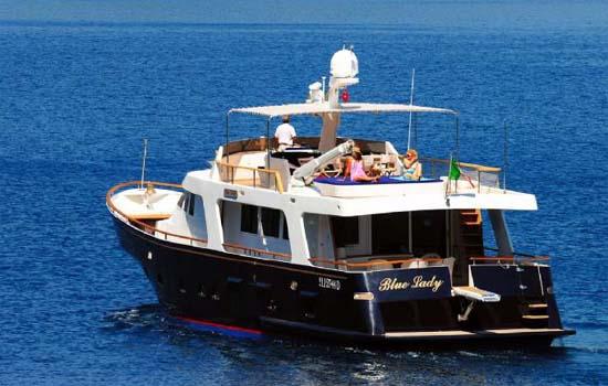 Yacht Brokerage Rossato Long Range Yacht Blue Lady