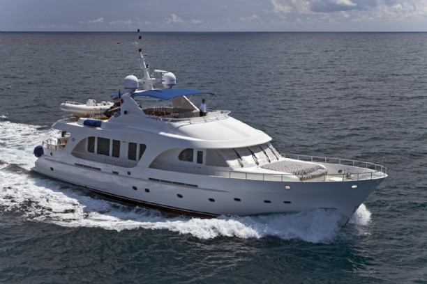 86 MOONEN EXPEDITION YACHT FAR NIENTE for Sale