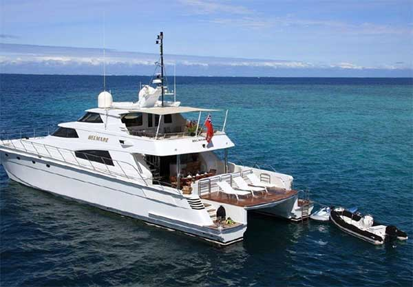 87 Pachoud Yachts for Sale Stern View
