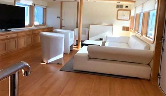 Expedition Yacht for Sale Main Salon